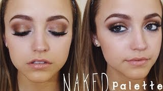 Bronze & Sexy UD Naked Palette Tutorial