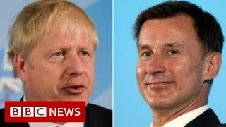 Tory leadership: Hunt and Johnson interviewed by Neil - BBC News