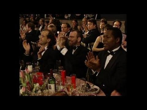 Angela Bassett Wins Best Actress Motion Picture Musical or Comedy - Golden Globes 1994