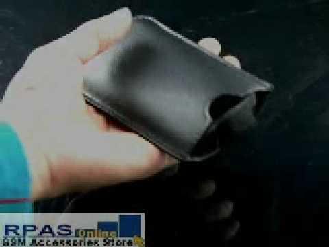 Slide Leather Case for SAMSUNG SGH-M8800 Pixon