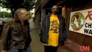 Larry King And Snoop Dogg Visit Roscoe's