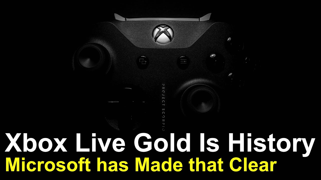 What's the Future of Xbox Live Gold?