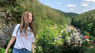 DEVIL'S CAVE POTTENSTEIN GERMANY | Alone in a scary cave