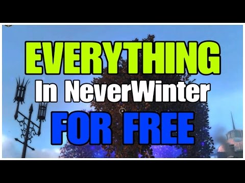 The NeverWinter Economy and How to get EVERYTHING in game for FREE