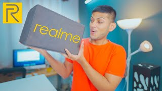 Realme sent me a Majedaar Box! 🔪📦  *Accessories*