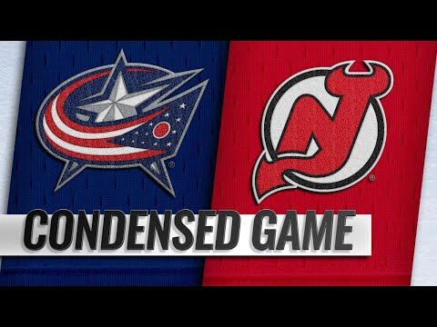 12/23/18 Condensed Game: Blue Jackets @ Devils