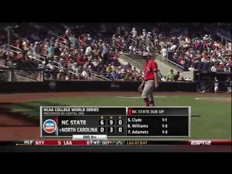 2013.06.16 NCAA Baseball College World Series: NC State Wolfpack vs North Carolina Tar Heels