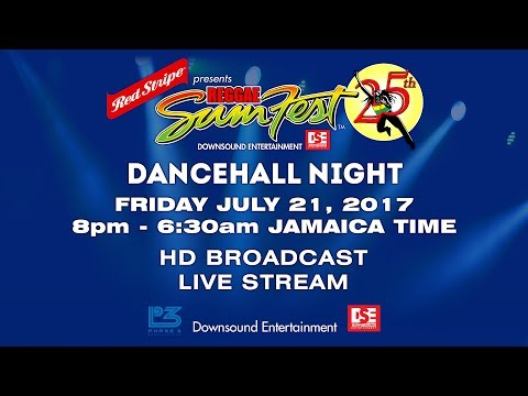 FRIDAY JULY 21 REGGAE SUMFEST 2017 HD BROADCAST LIVE STREAM