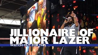 Jillionaire of Major Lazer - &#39Watch Out For This&#39 (Live At The Summertime Ball 2016)