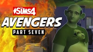 DUMB AVENGERS #7 - The Sims 4 Gameplay