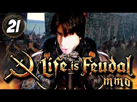 La LEGENDARIA DEFENSA de MAYORIA | LIFE IS FEUDAL MMO #21