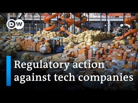 China drafts anti-monopolistic legislation against tech giants | DW News