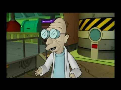 Video del video juego de Futurama aparecido en PS2, jugando con Fry