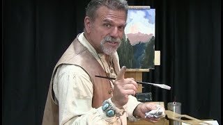 The Baumann Effect 11 Painting Demo. Concept, Focal Point, Color and so much more
