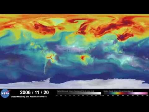 New super HD view of carbon dioxide