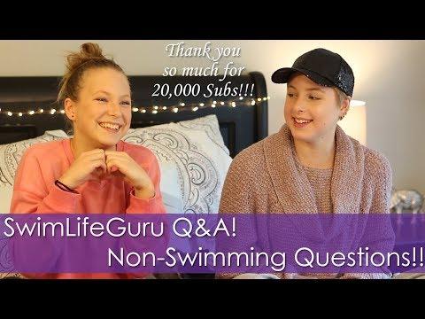 SwimLifeGuru Non-Swimming Q&A! My Sexuality?? Shaving My Head?