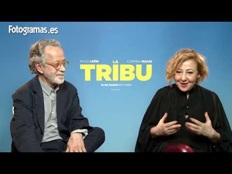Fernando Colomo y Carmen Machi nos cuentan 'La Tribu'   FOTOGRAMAS