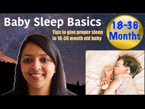 Baby Does Not Sleep Well? || Baby Sleep Basics (18-36 MONTHS)