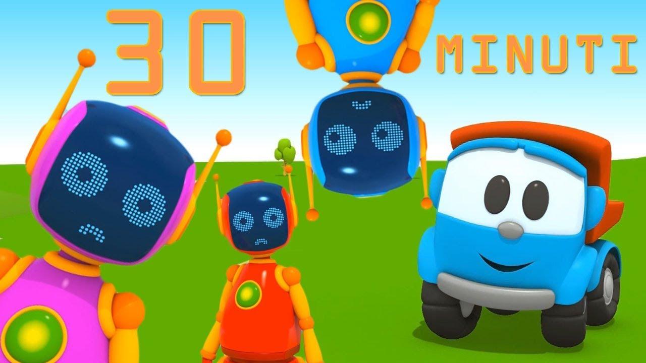 Compilation cartoni animati leo e i robot le puntate