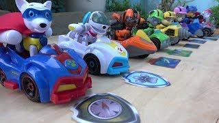 Paw Patrol Vehicles Toys Unboxing with Chase Skye Rubble Marshall Zuma
