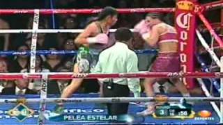 "Ana Maria ""Guerrera Azteca"" Torres Vs Hollie ""Sexy"" Dunaway Round 3"