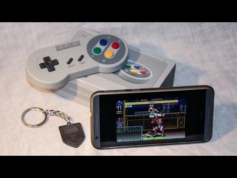 Unboxing & test de la manette SFC30 de 8Bitdo sur RetroArch (Android)