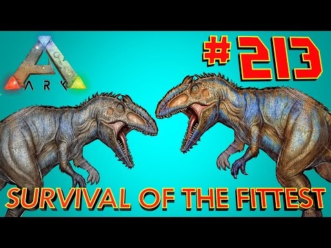 213 Double Giganotosaurus!!! ARK Survival Of The Fittest SOTF