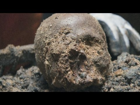 Ancient Roman skulls found in underground London construction site
