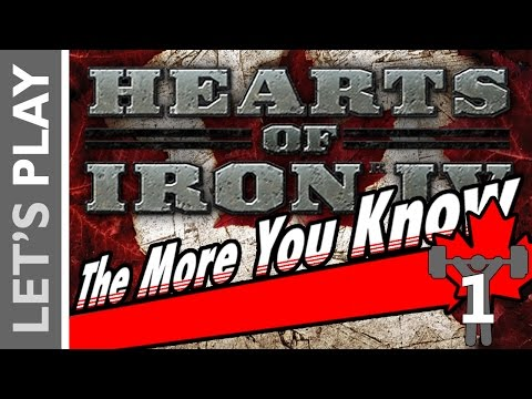 Hearts of Iron IV History Lesson: CANADA WAS BADASS IN WW2 #1