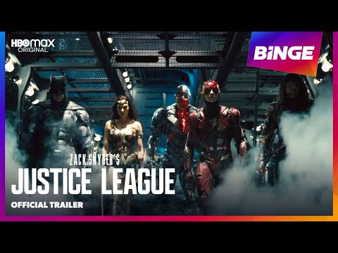 Zack Snyder's Justice League | Official Trailer | BINGE