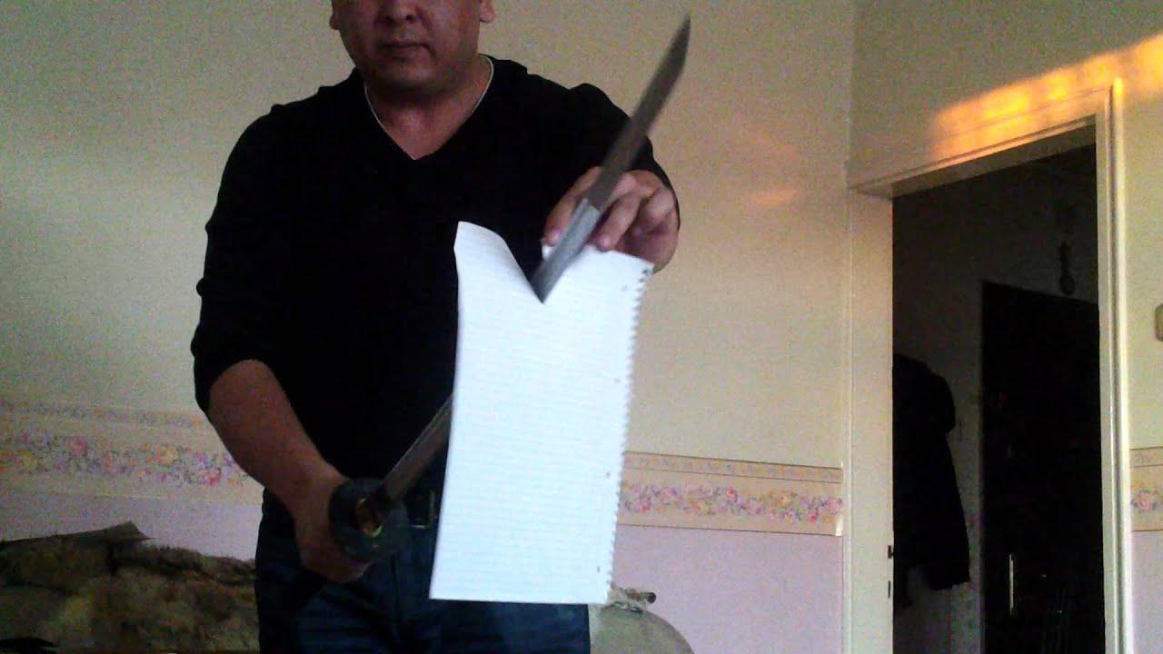 how to make a paper samurai sword