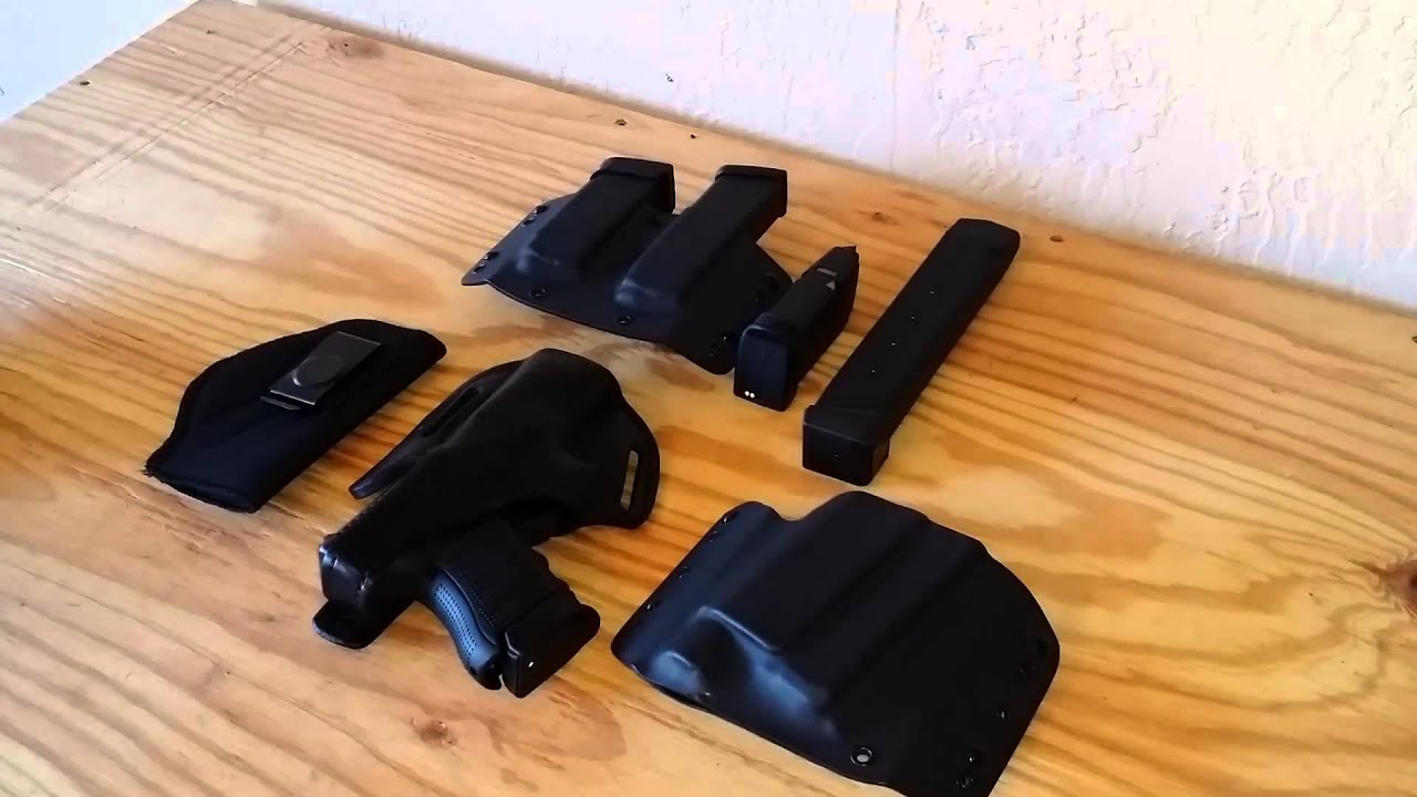 my glock 30 holsters:blackdog concealment gould & goodrich - YouTube