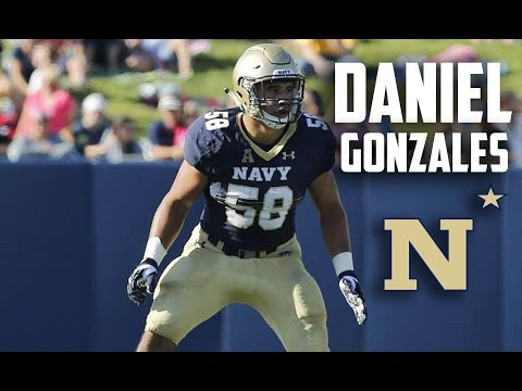 Daniel Gonzales || Star Linebacker || Official Navy Highlights ᴴ ᴰ