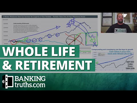 How Whole Life's Growth Helps Retirement (before and during)
