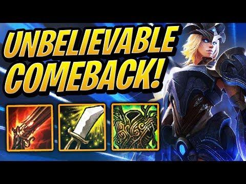 UNBELIEVABLE COMEBACK! | Teamfight Tactics | TFT | League of Legends Auto Chess