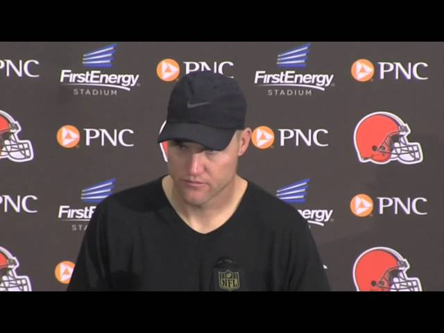 Browns' Josh McCown on his two interceptions in loss to Broncos