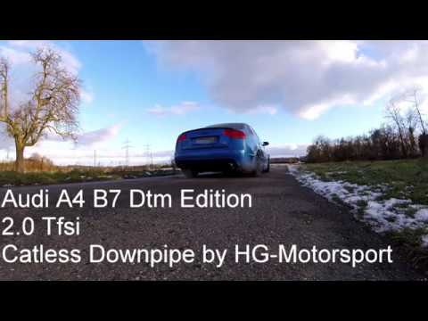 Boost-Chip Performance - Audi A4 B7 DTM Edition Soundcheck Downpipe