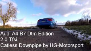 boost chip performance audi a4 b7 dtm edition soundcheck downpipe