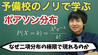 ポアソン分布(具体例やその意味、ポアソンの極限定理)