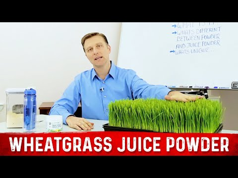 What You Don't Know About Wheatgrass Juice Powder!