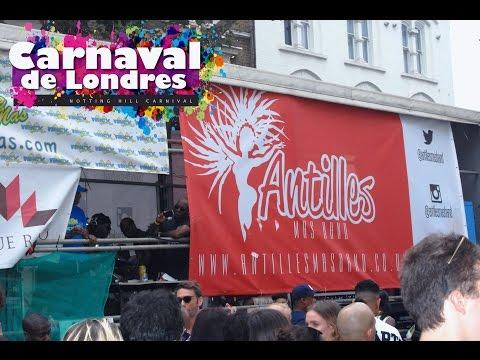 Notting Hill Carnival 2016 in London UK