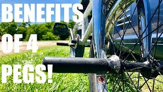 Video BENEFITS OF RIDING 4 PEGS! *BMX* + GIVEAWAY! download MP3, 3GP, MP4, WEBM, AVI, FLV September 2018