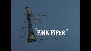 Pink Panther: PINK PIPER (TV version, laugh track)