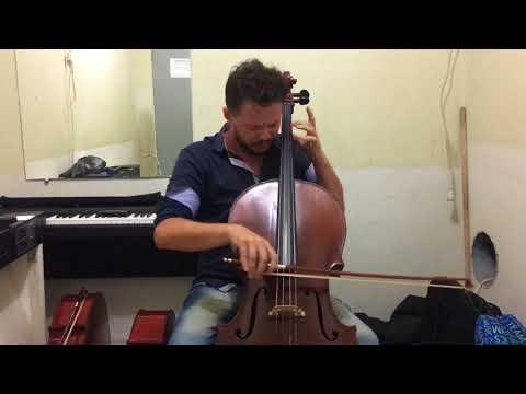 Fabio Machado - Bach, Gigue II Suite