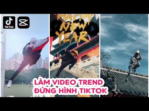 Hướng dẫn làm video nhảy đứng hình tiktok | Edit video TikTok effect