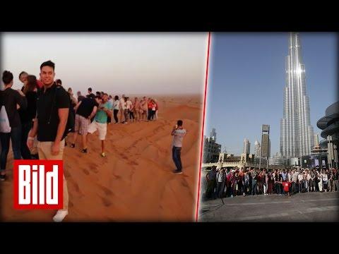 DUBAI: Tour der Superlative für 100 BILD-Leser - Hoch, rasant, emotional
