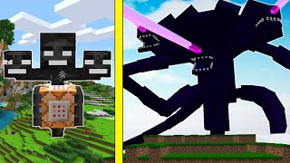 DEV WİTHER CANAVARINI EVCİLLEŞTİRDİM! (WITHER STORM) - Minecraft
