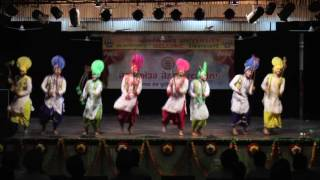 assm college bhangra at gndu youth festival 2016