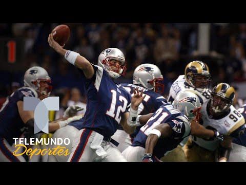 Mientras Tom Brady ganaba su primer Super Bowl, ellos eran unos niños   Telemundo Deportes