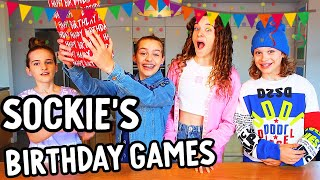 SOCKIE'S 14th Birthday GAMES Challenge w/ The Norris Nuts